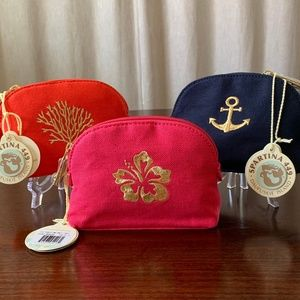 NWT - Spartina - Small Cosmetic Case (Various)